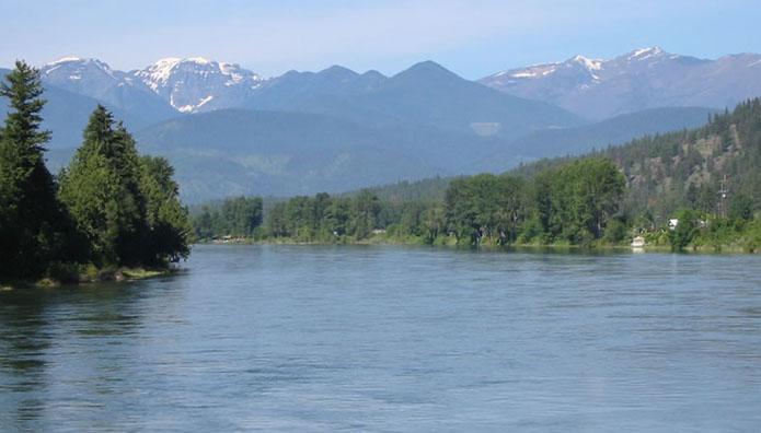 Kris Kootenai River Background Pages